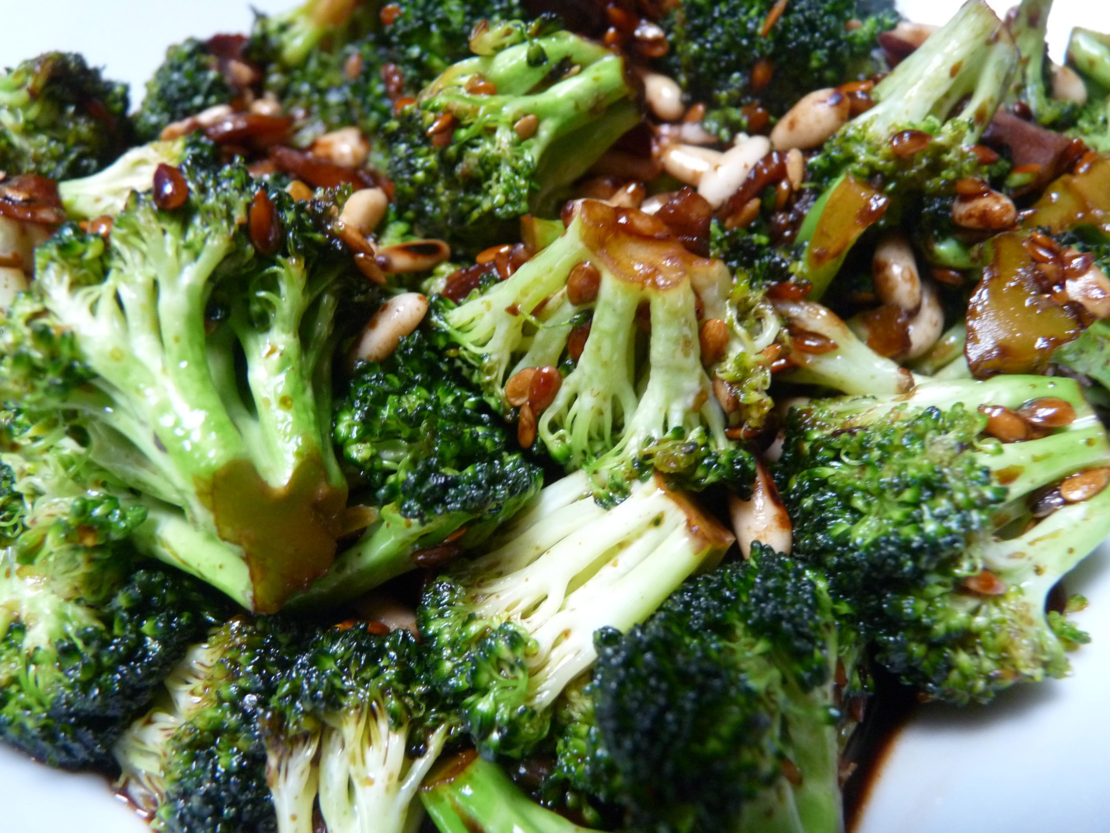 receta brocoli salteado