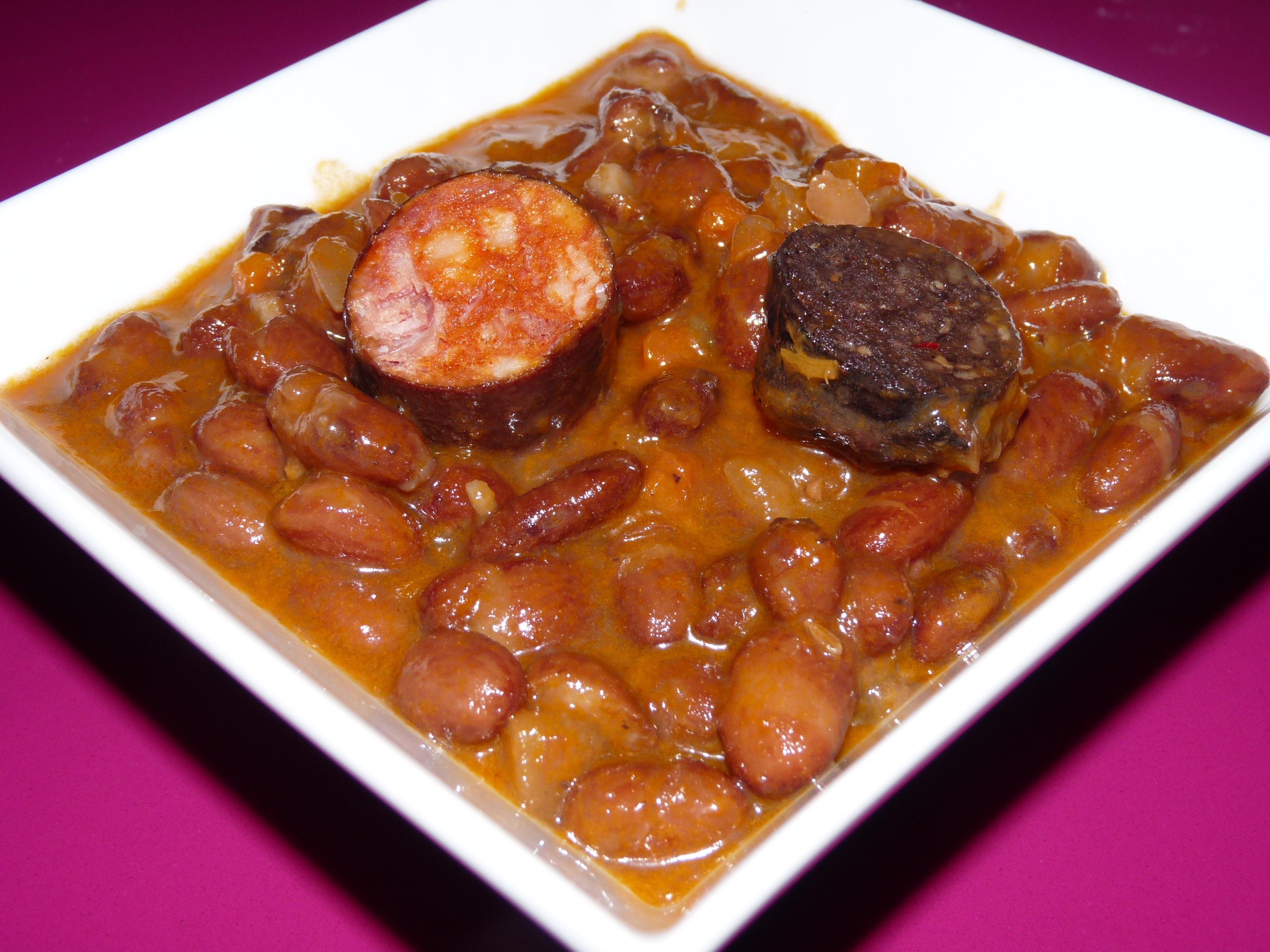Judias pintas con chorizo y morcilla internauta sin pauta - Judias con chorizo y patatas ...