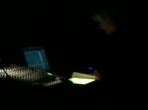 A oscuras con Hampson