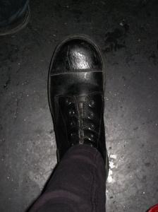 la bota la ines black